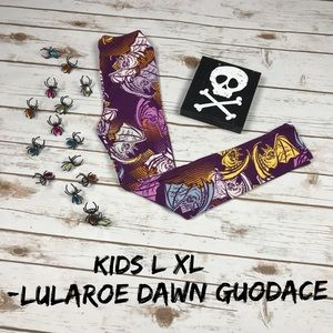 NWT LuLaRoe Kids Halloween 👻 Leggings L/XL